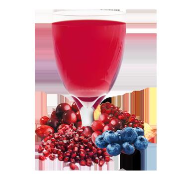 Blueberry and Cran-Granata Drink Mix