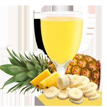 Pineapple and Banana Drink Mix