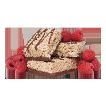Ideal Complete - Chocolatey Raspberry Crispy Square
